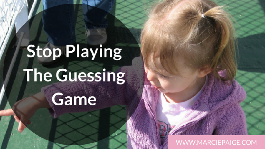 Stop Playing Guessing Game - Use baby sign language