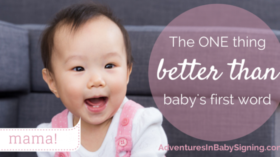 The one thing better than baby's first word // MarciePaige.com