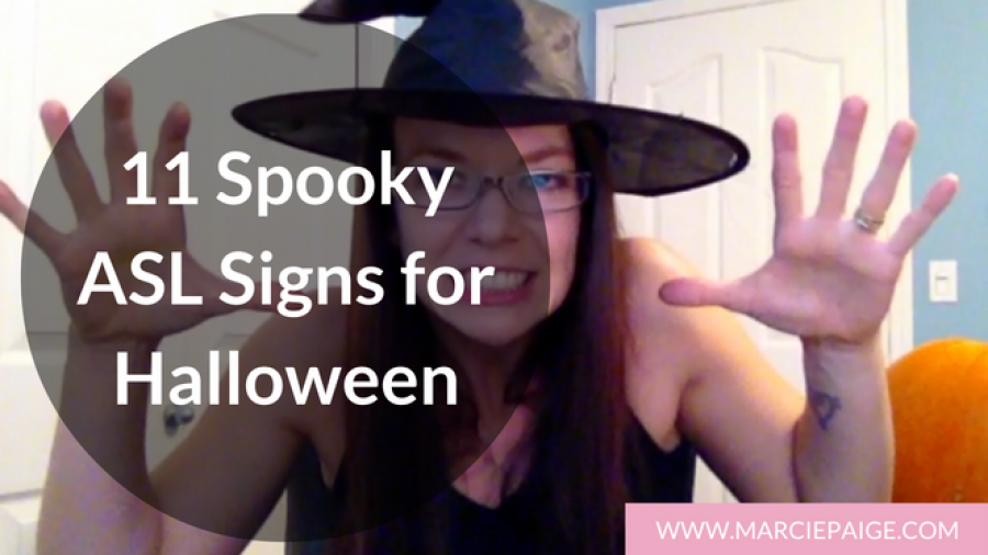 ASL Signs for Halloween, Sign Language for Kids