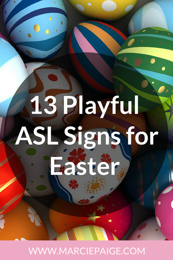 Easter Signs - Baby Sign Language