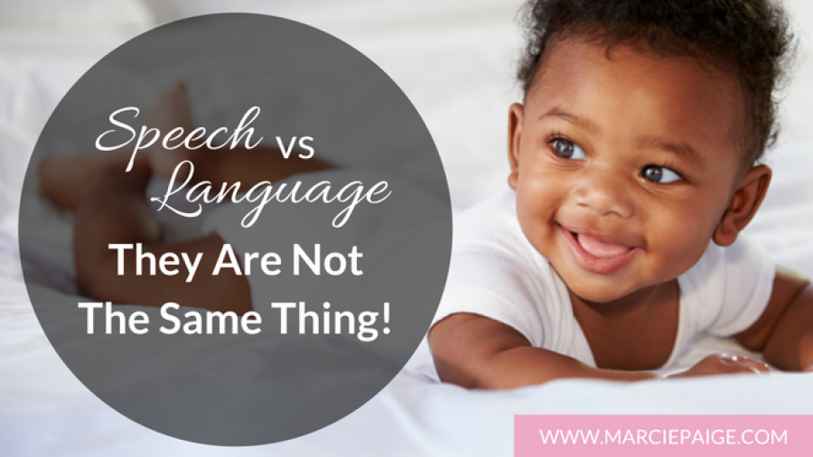 Speech vs Language - Learn the difference