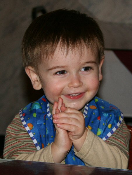 Tracy and Griffin, baby sign language story